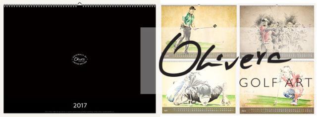 GolfArt Calendar