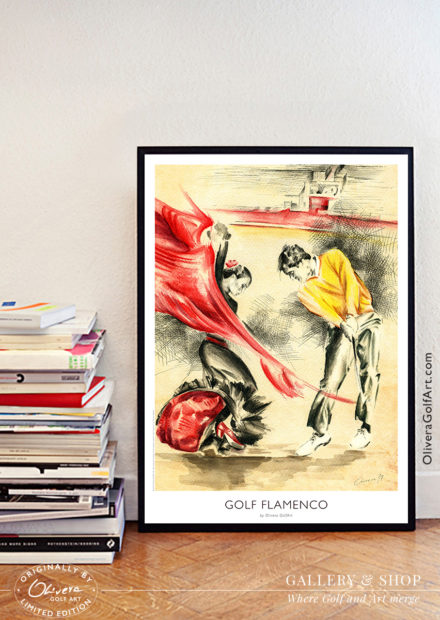 Golf-Flamenco-Poster-ShowRoom
