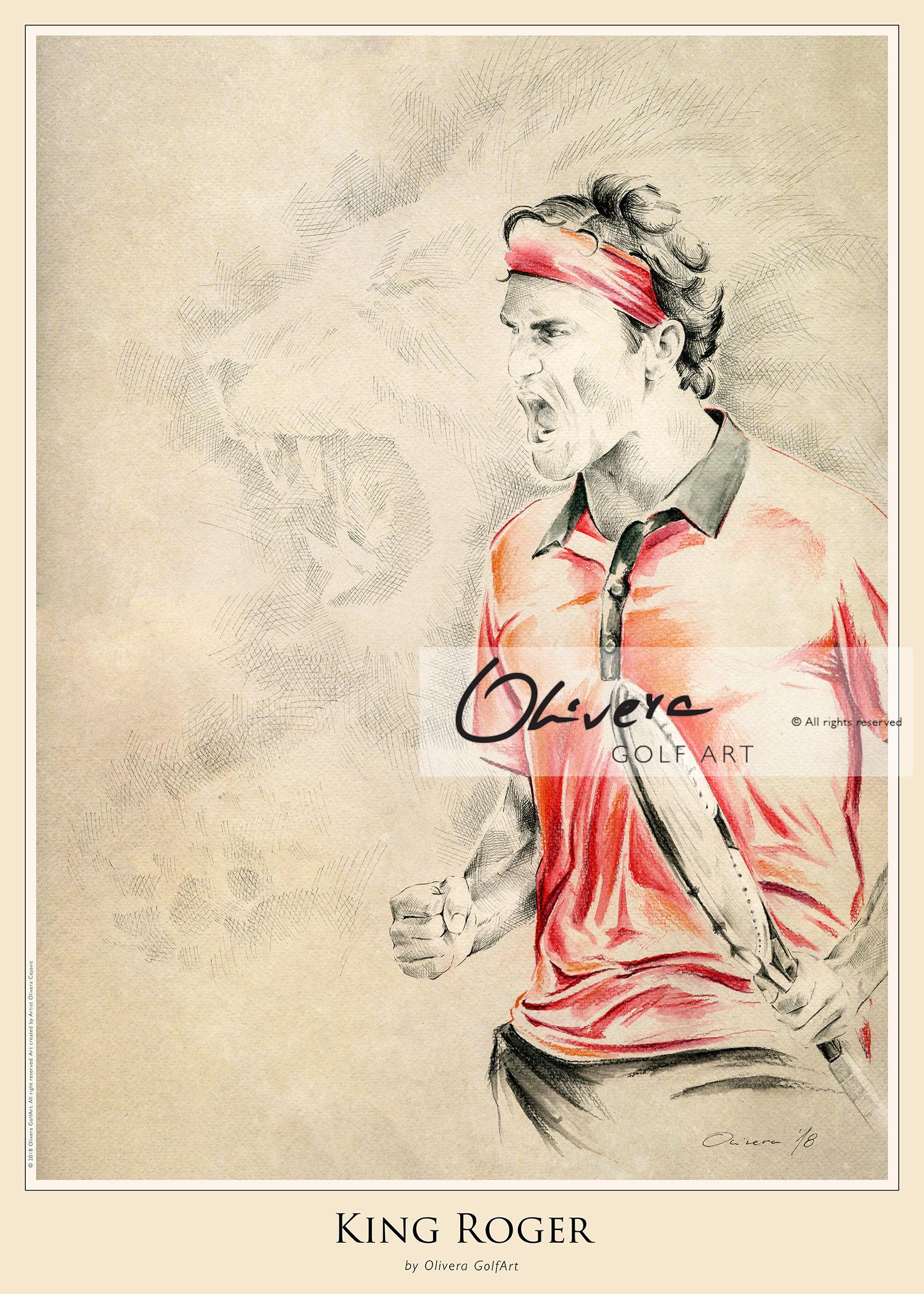 King Roger – Poster – Olivera GolfArt